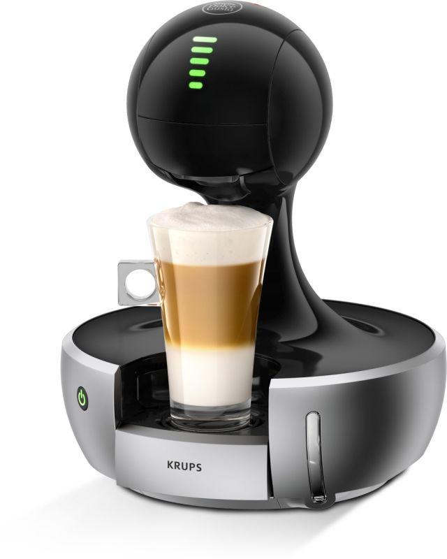 KRUPS KP350B31 Nescafé Dolce Gusto Drop (střibrná) - Kapslový kávovar + dárek Nescafé Dolce Gusto Latte Macchiato Vanilla zdarma