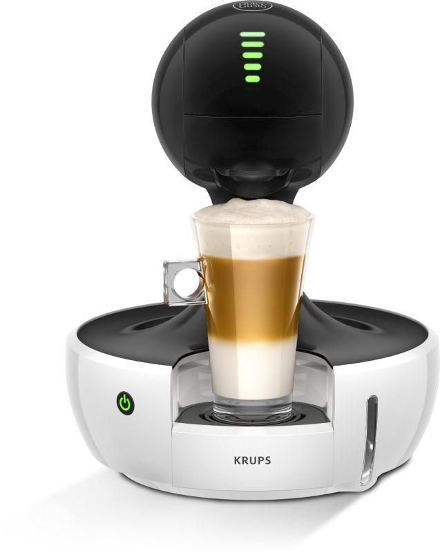 KRUPS KP350131 Nescafé Dolce Gusto Drop White (bílá) - Kapslový kávovar + dárek Nescafé Dolce Gusto Latte Macchiato Vanilla zdarma
