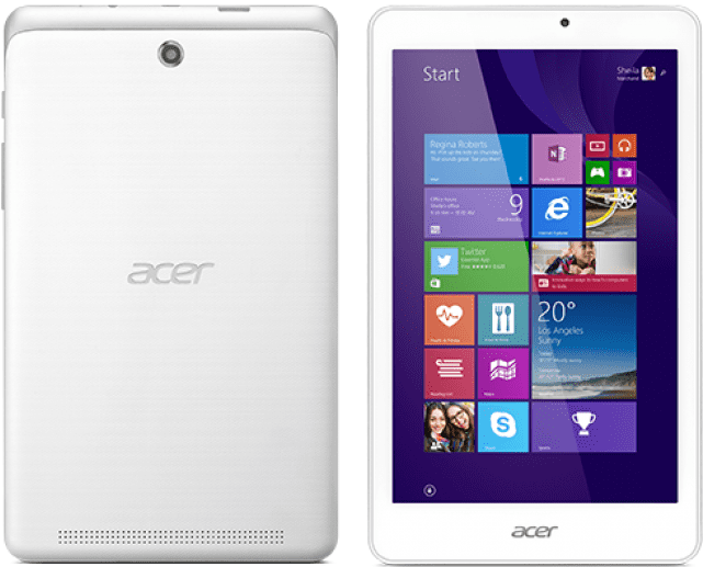 Acer Iconia Tab W1-810 Z3735G, NT.L7GEC.004 (bílý)