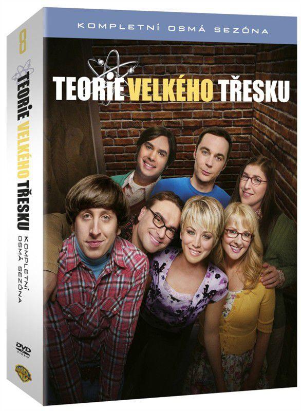Teorie velkého třesku 8.série - 3x DVD