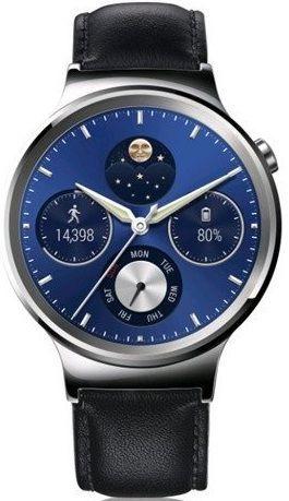 Huawei Watch W1 (stříbrno-černé)