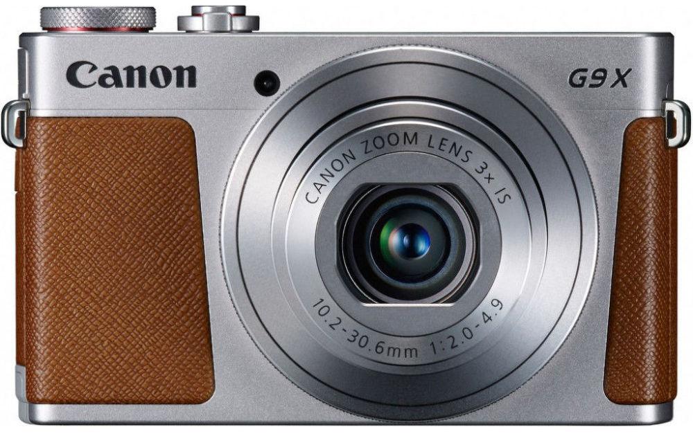 Canon PowerShot G9 X (stříbrný)