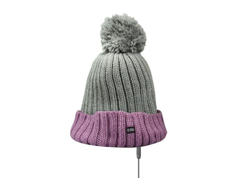 SBS zimní čepice s handsfree (růžová)