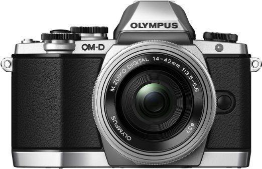 Olympus E-M10 + 14-42 EZ kit (stříbrný)