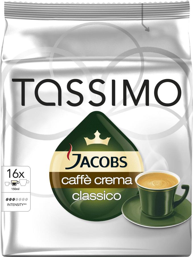 TASSIMO Café Crema - kapslová káva pro kávovary Tassimo