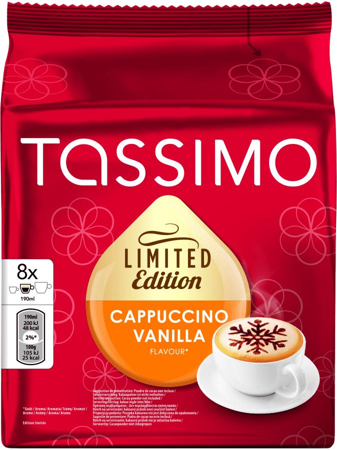 Tassimo Cappucino Vanilla 260g - káva na kapsle