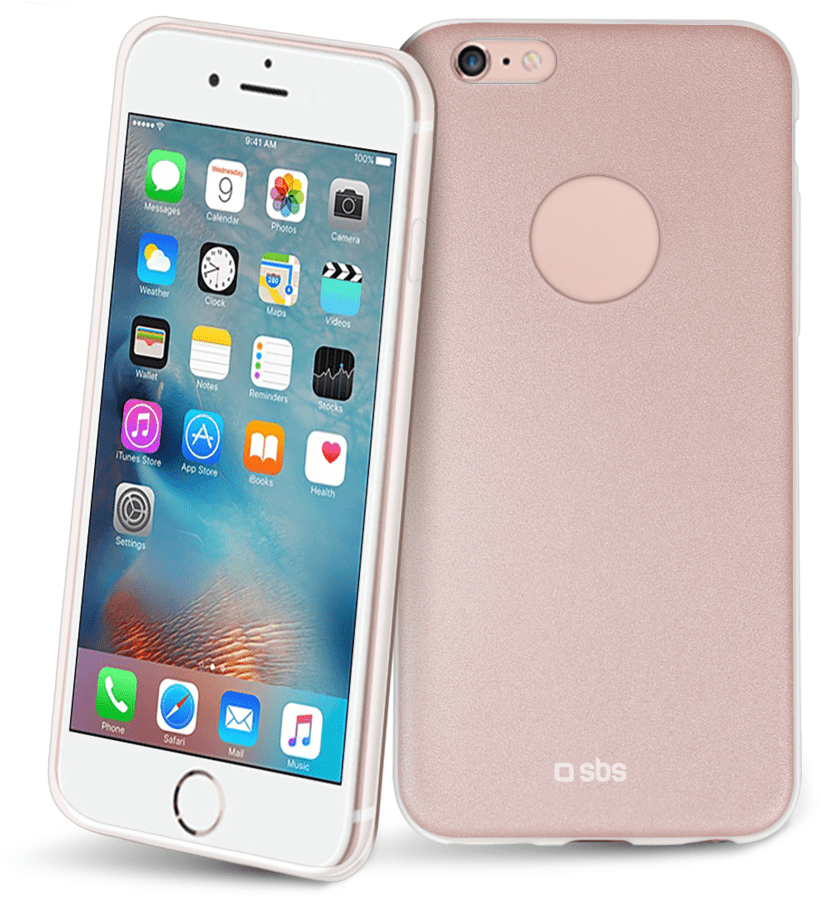 SBS extra-slim púzdro pre iPhone 6 (růžové)