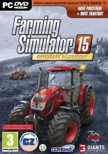 Farming Simulator 15, oficiální rozšíření Zetor - hra na PC