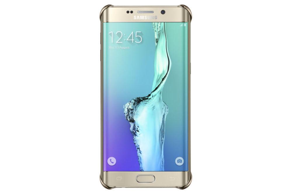 Samsung kryt Glitter pro Galaxy S6 edge+ (zlatý)