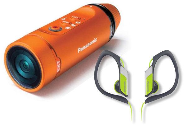 Panasonic HX-A1ME-D (oranžová) + Sluchátka