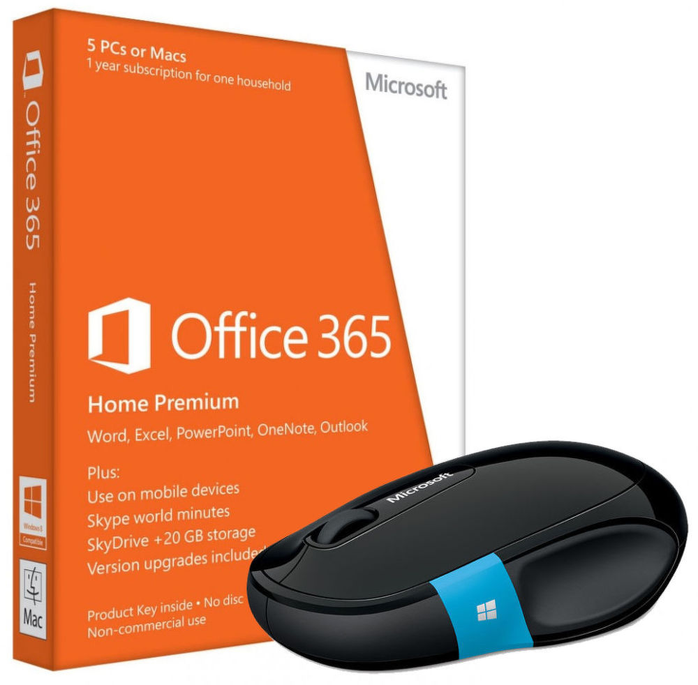 Microsoft Office 365 Home Premium BUNDLE