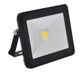 Ecolite LED reflektor s HF senz.,COB,30W,IP44,4100K (černý)