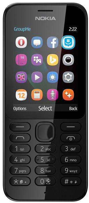 Nokia 222 (černý)