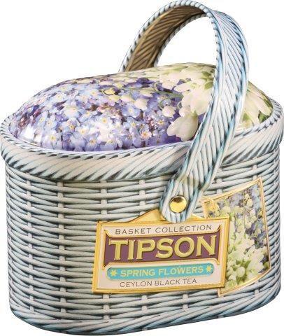 Tipson 5005 Basket Spring Flowers - 100g černý čaj