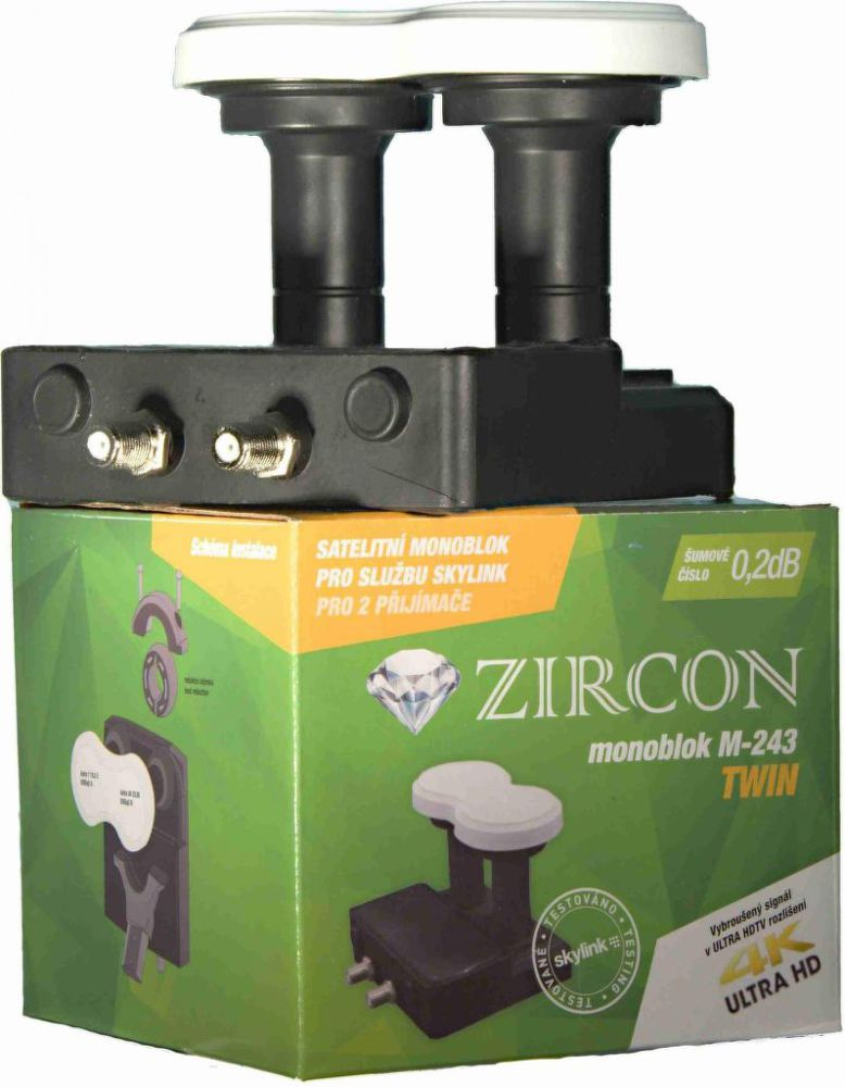 Zircon M243 Monoblock Twin Skylink