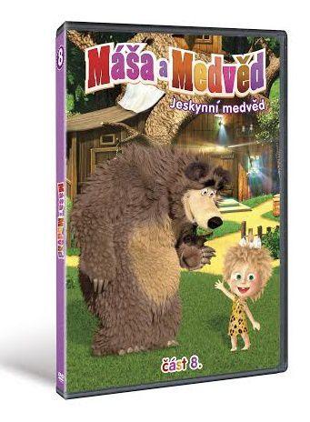 Máša a Medvěd 8 - Jeskynní - DVD film