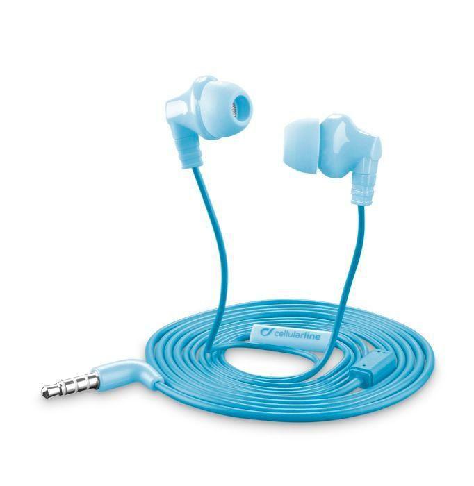 CellularLine Style&Color Cricket (modrá) - sluchátka