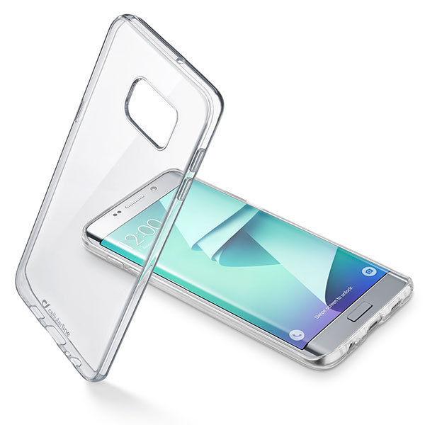 CellularLine Zadní čirý kryt Clear Duo Samsung Galaxy S7 Edge