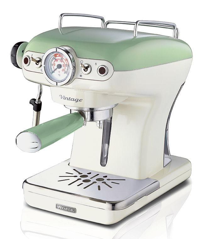 ARIETE ART 1389/14 (zelená) - Pákové espresso
