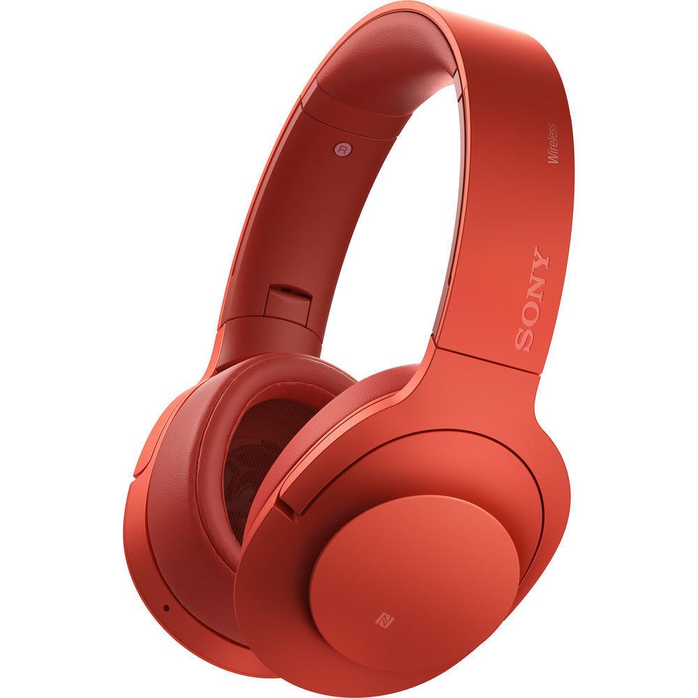 Sony MDR-100ABN (červená)