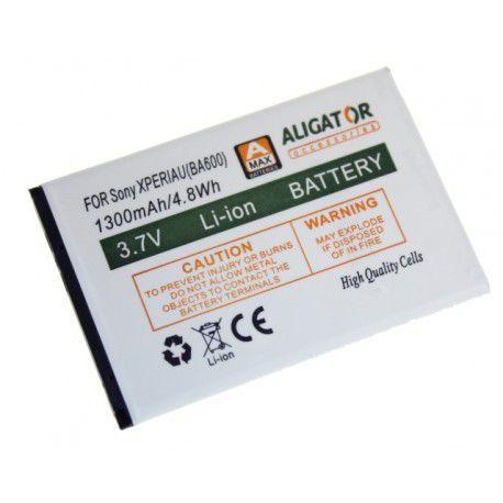 Aligator baterie pro Sony Xperia, U Li-Ion 1300 mAh