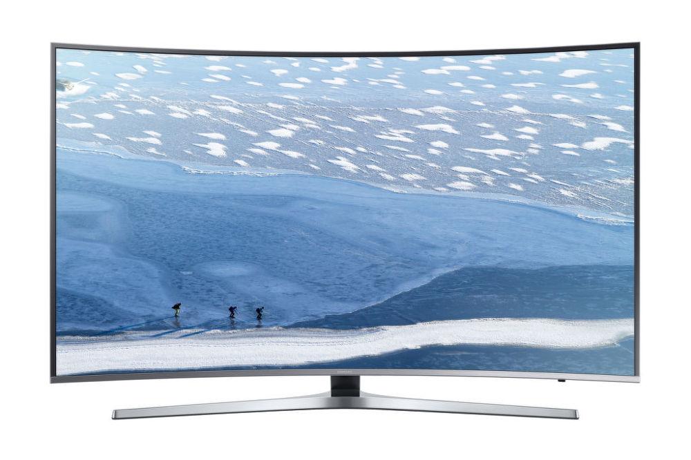 Samsung UE55KU6672U (černo-stříbrná)