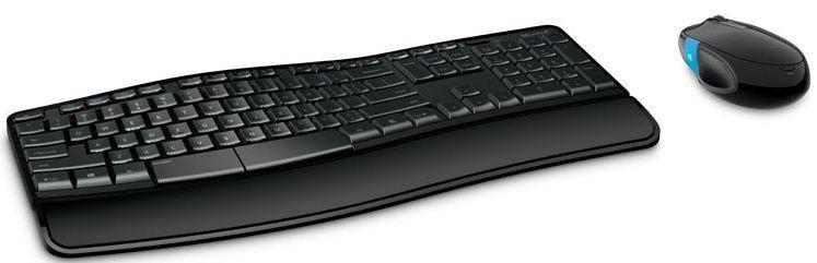 Microsoft Sculpt Comfort Desktop Wireless keyboard, CZ&SK