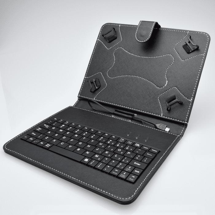 """Mobilnet univerzální 8"""" pouzdro s klávesnicí"""