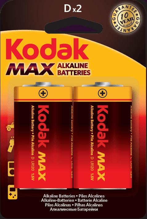 Kodak Max D/LR20 2ks