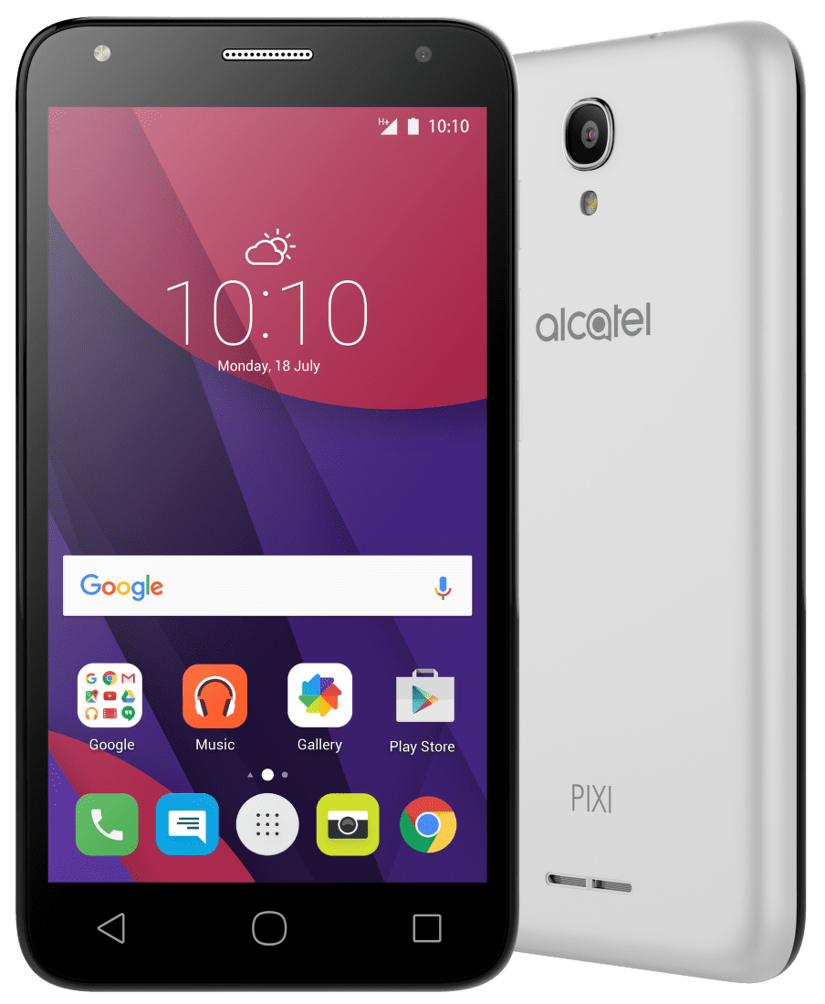 Alcatel OT-5010D PIXI 4 (stříbrný)