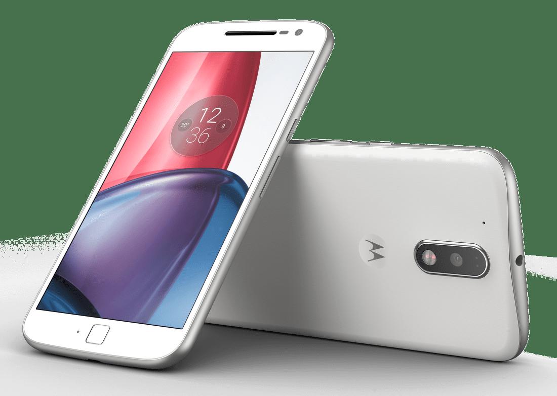 Motorola Moto G4 bílý