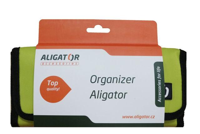 Aligator cestovní organizér (zelený)