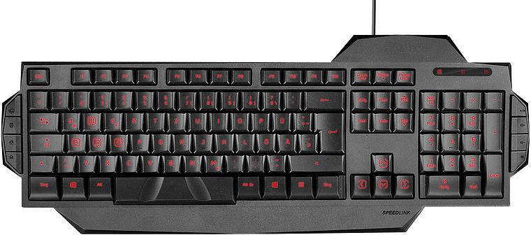 Speedlink Rapax Gaming (černá)