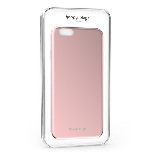 Happy Plugs Deluxe iPhone 6/6S (slim růžový)