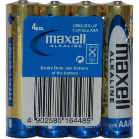 Maxell LR03 AAA Alkaline, 4ks
