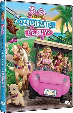 Barbie: Zachraňte pejsky - DVD film
