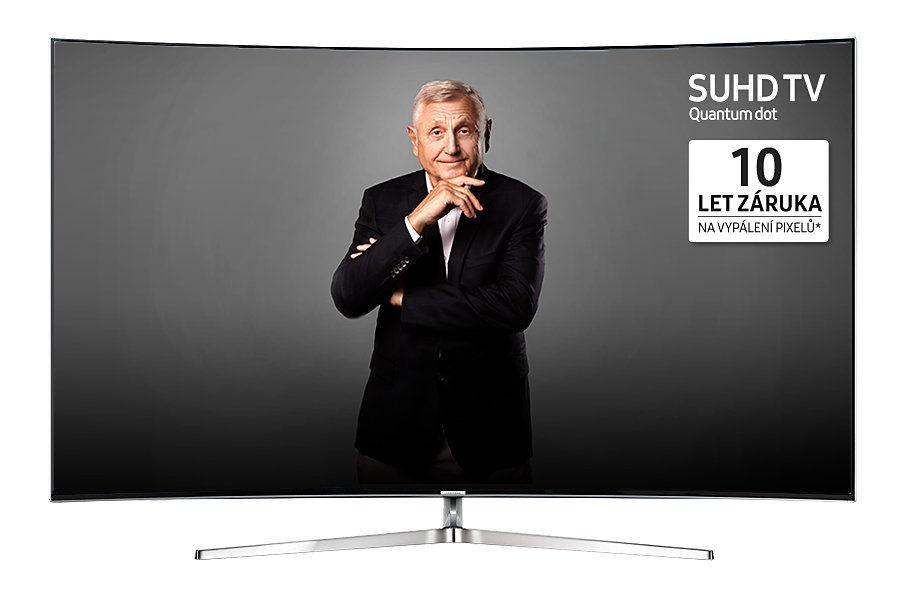 Samsung UE55KS9002T (černá) + dárek Set 3 DVD filmů zdarma