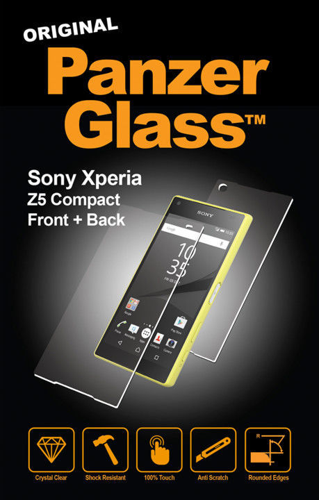 PanzerGlass 1609 sklo pro Sony Xperia Z5 Compact