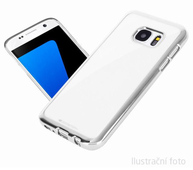 Aligator pouzdro pro Samsung Galaxy S6 Edge (stříbrná)