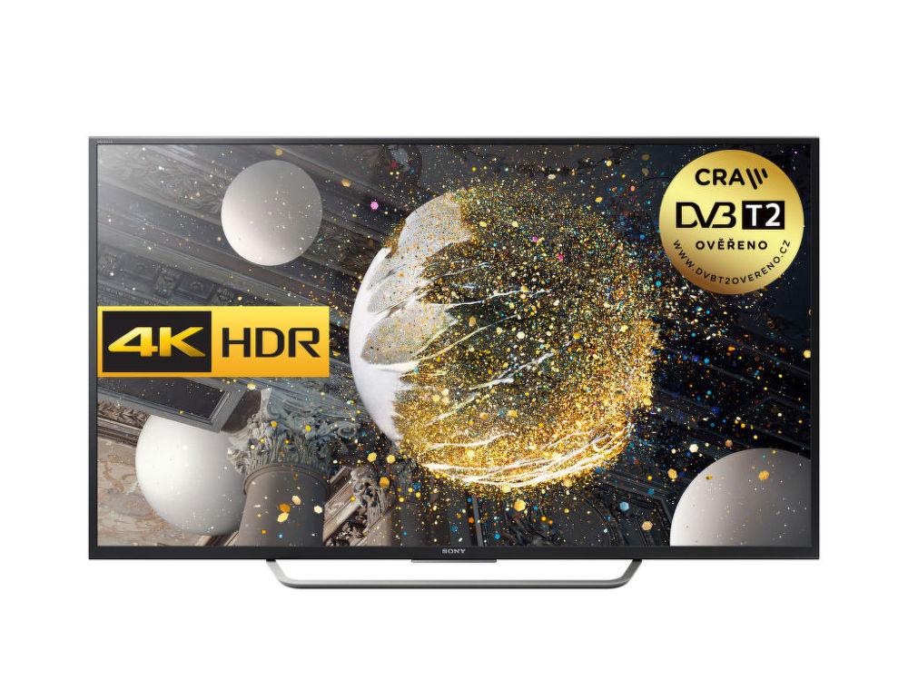 Sony KD-65XD7505 (černá) + 3500 Kč zpět na Věrnostní kartu