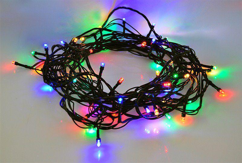 Solight 1V02-M - LED řetěz, 120xLED (barevné světlo), 20m