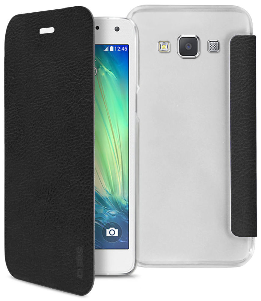 SBS pouzdro pro Samsung Galaxy A5 (černé), TEBOOKYOUNGSAA5K