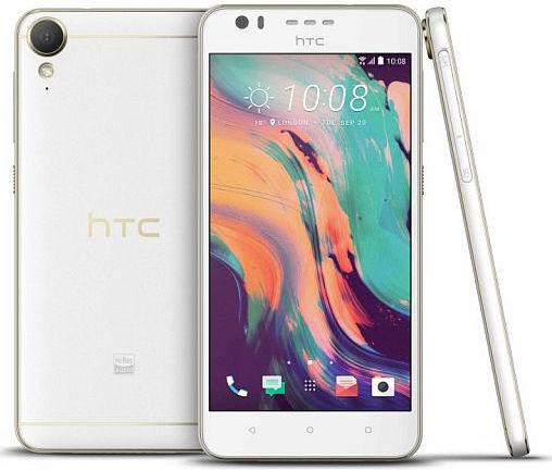 HTC Desire 10 bílý