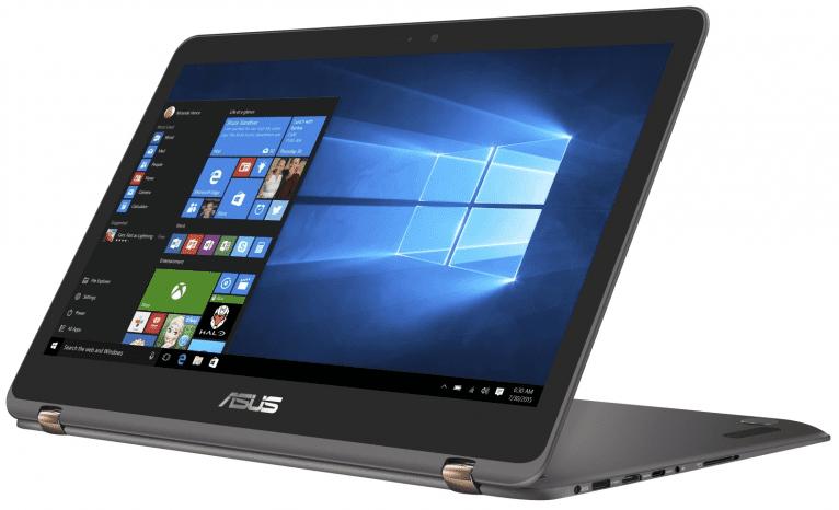 Asus Zenbook Flip UX360UA-C4022T (šedá) + dárek eScan Internet Security Suite Antivirový software na 90 dní zdarma