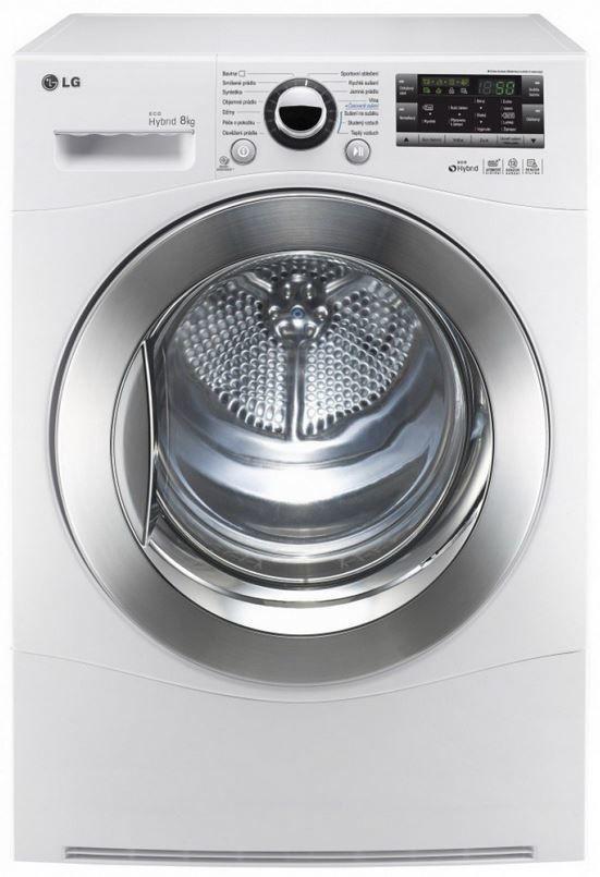 LG RC8082AV2Z - hybridní sušička prádla