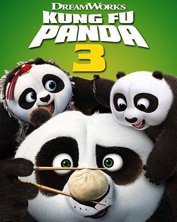 Kung Fu Panda 3 - DVD film