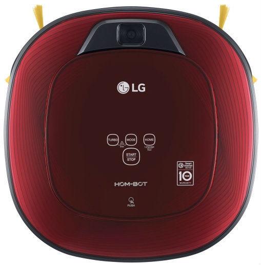 LG VR8601RR Hom-bot Square (červená) - Robotický vysavač