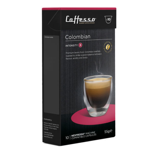 Cafesso Nespresso Colombian (10ks)