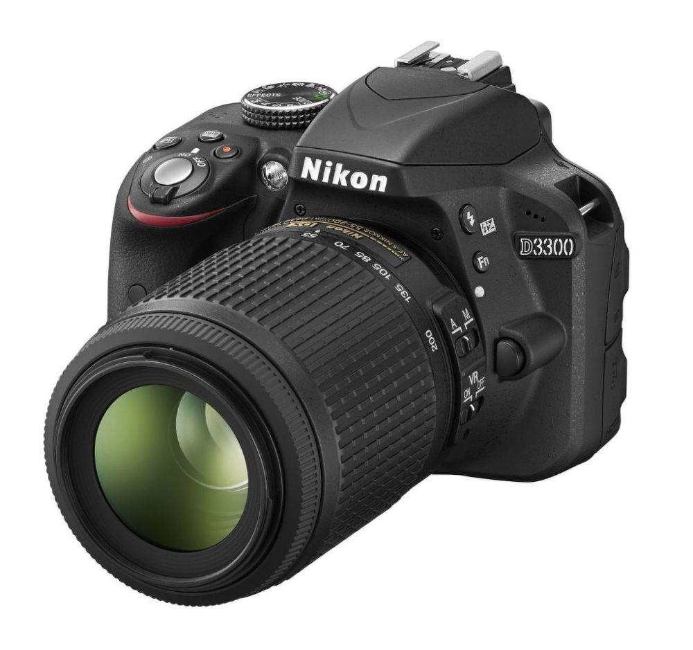 Nikon D3300 + 18-55 VR II + 55-200VR