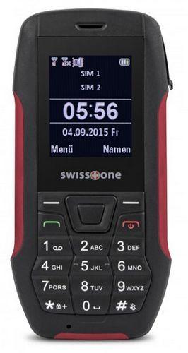 Swisstone SX567 Dual SIM (černo-červený)